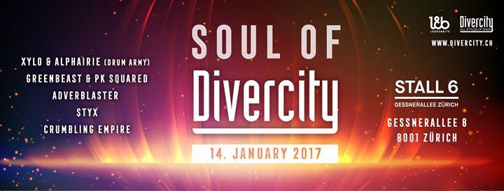 Soul of Divercity @ Stall6, Zürich – 14.01.2017
