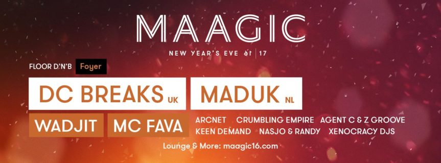 Maagic – on three floors @ Maag Halle Zürich – 31.12.2016