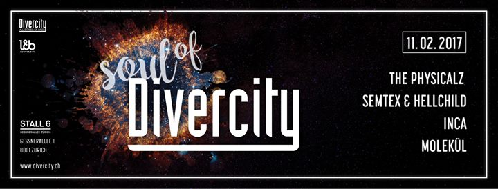 Soul of Divercity @ Stall 6, Zürich – 11.02.2017