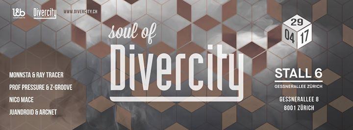 Soul of Divercity @ Stall 6, Zürich – 29.04.2017