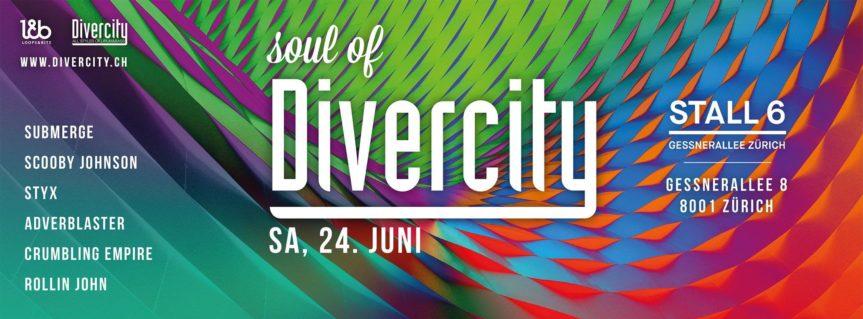 Soul of Divercity @ Zigiroom – Stall6, Zürich – 24.06.2017