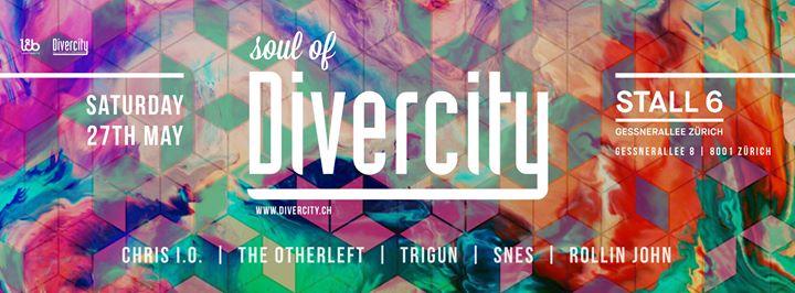 Soul of Divercity @ Stall6, Zürich – 27.05.2017