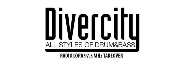 Divercity DJ-Marathon at Radio LoRa (97.5 MHz) – 08.08.2017 @ 06:00-22:00
