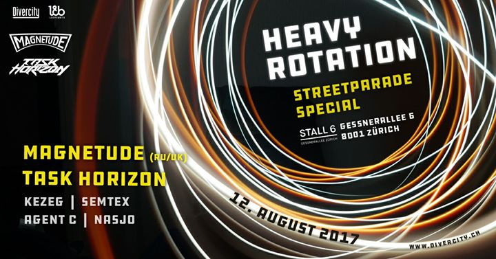 Heavy Rotation – Streetparade Special @ Stall 6, Zürich – 12.08.2017