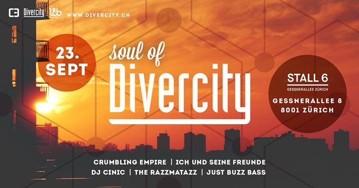 Soul of Divercity @ Stall 6, Zürich – 23.09.2017