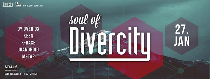 Soul of Divercity @ Stall 6, Zürich – 27.01.2018