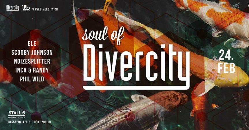 Soul of Divercity @ Stall 6, Zürich – 24.02.2018