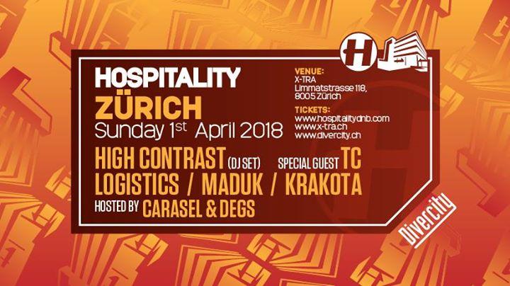 Hospitality Zürich @ X-TRA, Zürich – 01.04.2018