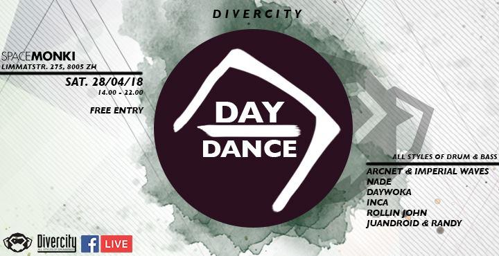 Divercity Daydance @ SpaceMonki, Zürich – 28.04.2018