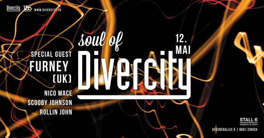 Soul of Divercity w/ Furney @ Stall 6, Zürich – 12.05.2018