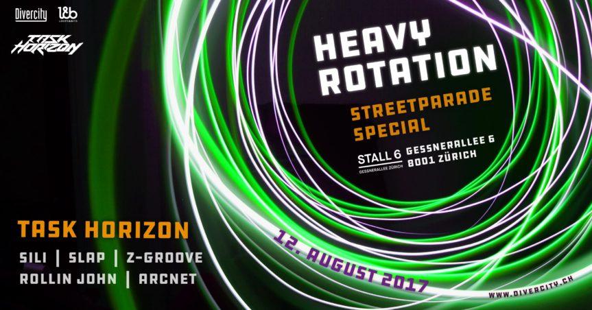 Heavy Rotation – Streetparade Special @ Stall 6, Zürich – 11.08.2018
