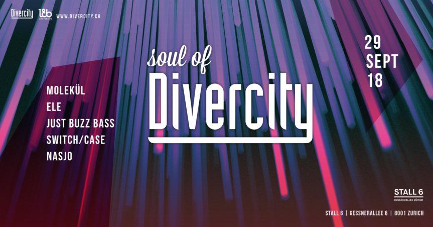 Soul of Divercity @ Stall 6, Zürich – 29.09.2018